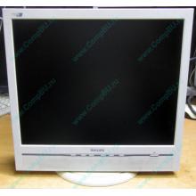 """Б/У монитор 17"""" Philips 170B с колонками и USB-хабом в Орехово-Зуеве, белый (Орехово-Зуево)"""