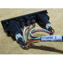 HP 224998-001 в Орехово-Зуеве, кнопка включения питания HP 224998-001 с кабелем для сервера HP ML370 G4 (Орехово-Зуево)